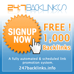 1000+ high-quality free website backlinks (automatic submission)